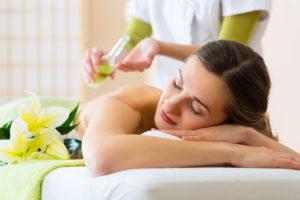celková masáž